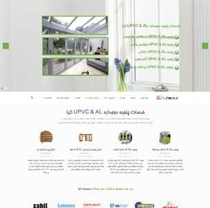 طراحی سایت درب و پنجره کیا
