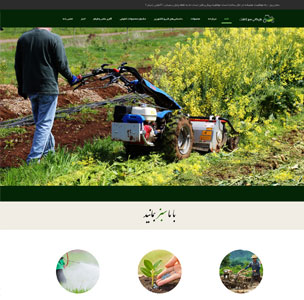 طراحی سایت بازرگانی سبزکاشت